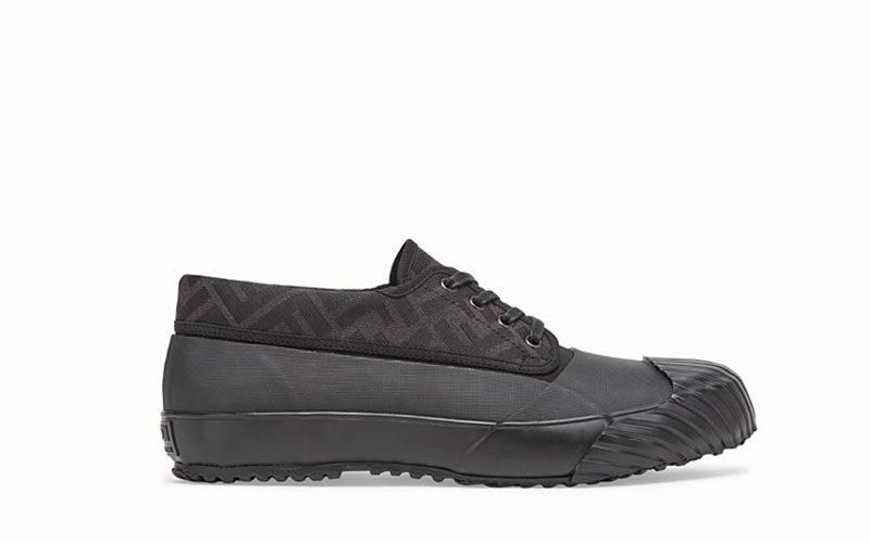 Fendi and moonstar heren sneakers zwart