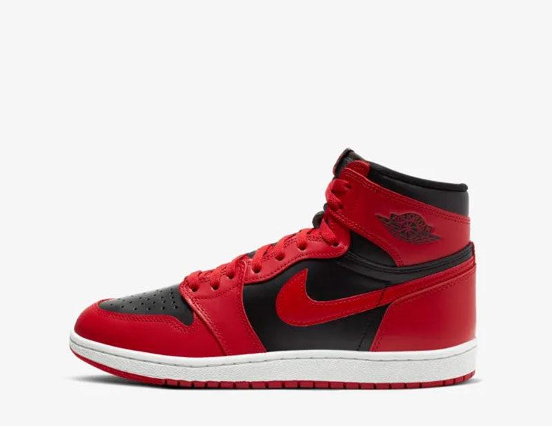 Nike air jordan 1 '85 heren sneakers rood/zwart