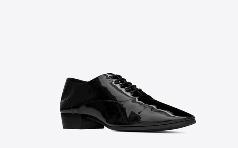 Yves Saint Laurent hopper oxford dames schoenen zwart