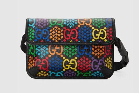 Gucci gg psychedelic heuptas multicolor