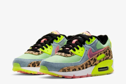 Nike air max 90 lx dames sneakers multicolor