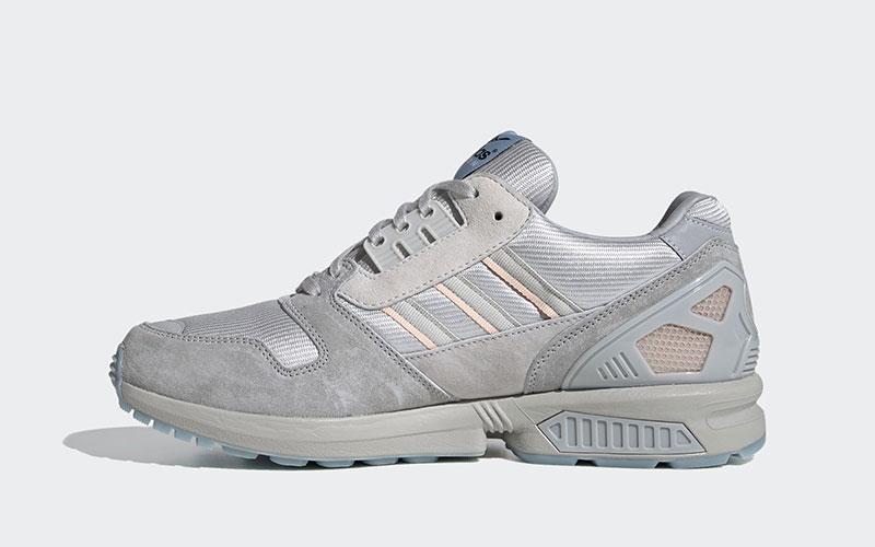 Adidas ZX 8000 dames sneakers grijs