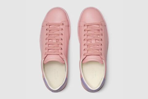 Gucci ace dames sneakers roze
