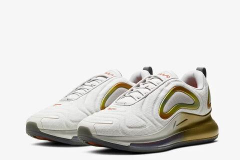 Nike air max 720 heren sneakers wit/goud