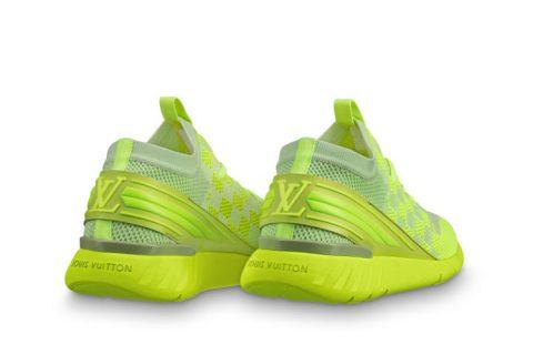 Louis Vuitton fastlane heren sneakers geel
