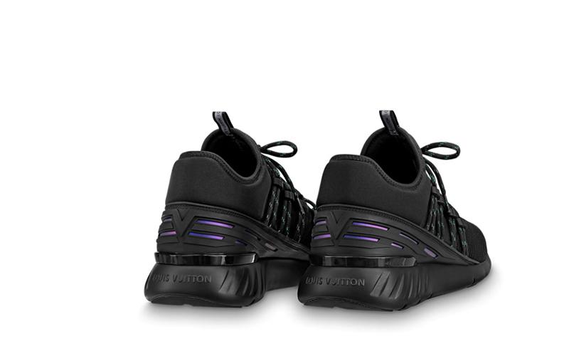 Louis Vuitton fastlane heren sneakers zwart