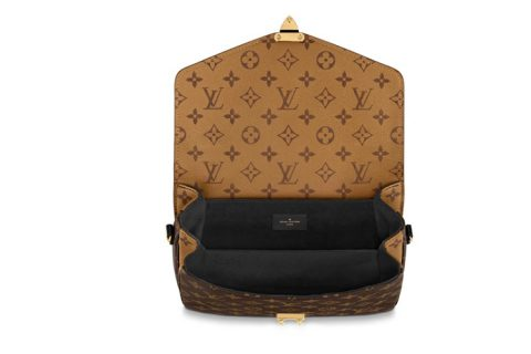 Louis Vuitton pochette métis handtas bruin