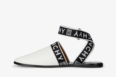 Givenchy paris 4g dames sandalen wit/zwart
