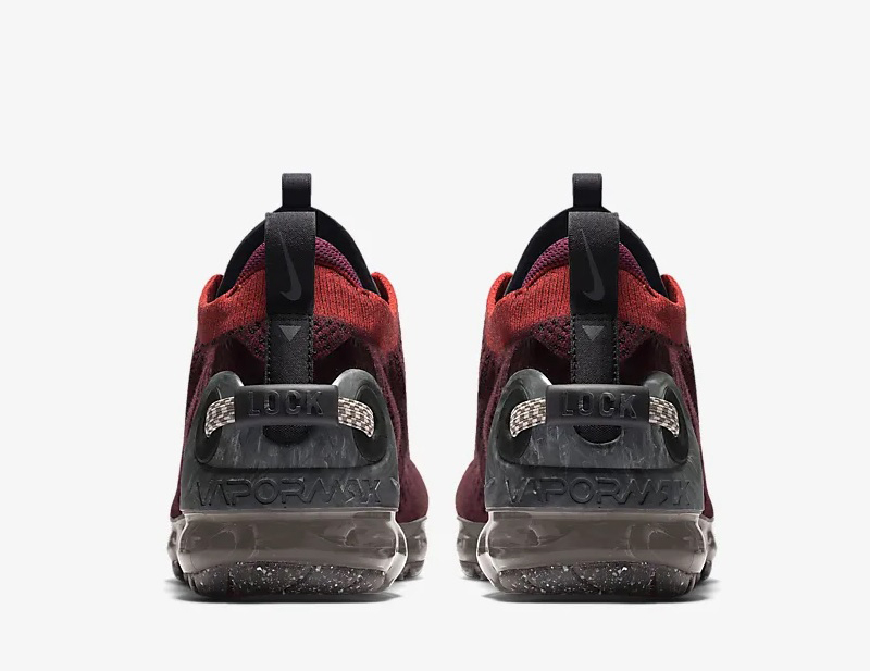 Nike air vapormax 2020 FK sneakers donkerrood