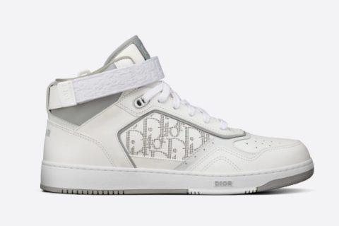 Christian Dior b27 heren hoge sneakers wit