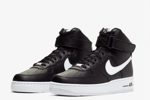 Nike air force 1 high'07 sneakers zwart/wit