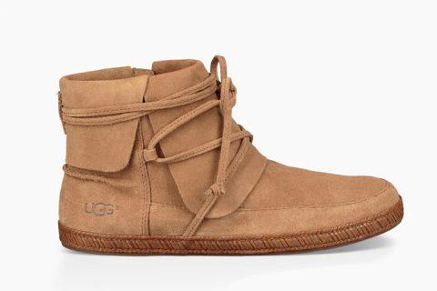 UGG ® reid loafer dames laarzen chestnut