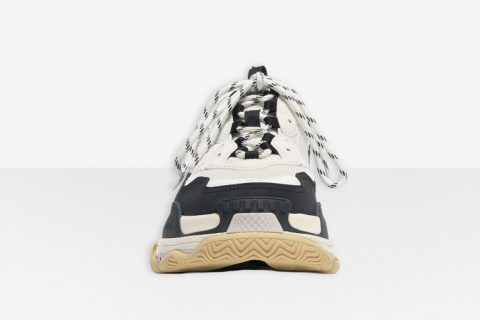 Balenciaga triple s heren sneakers wit/zwart