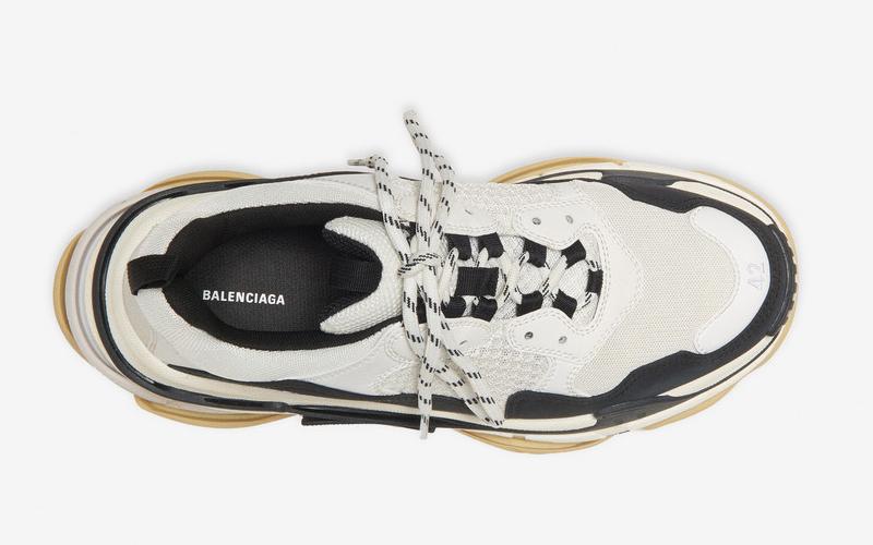 Balenciaga triple s heren sneakers wit/zwart