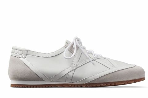 Jimmy Choo kato/m heren sneakers wit