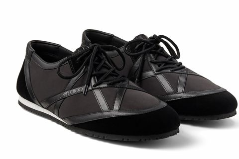 Jimmy Choo kato/m heren sneakers zwart
