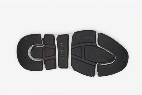 Balenciaga speed trainers 2.0 sneakers wit/zwart