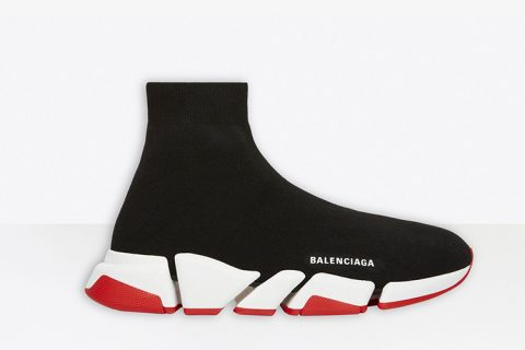 Balenciaga speed trainers 2.0 sneakers zwart/wit - 02