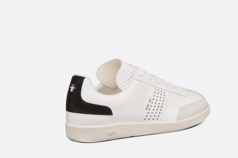Christian Dior b01 heren lage sneakers wit
