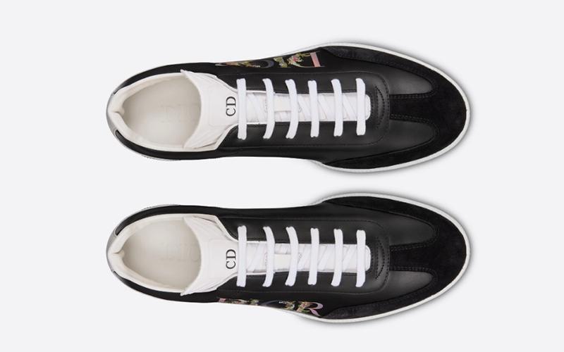 Christian Dior b01 heren lage sneakers zwart
