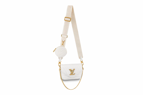 Louis Vuitton multi pochette new wave schoudertas wit