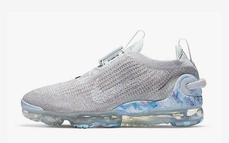 Nike air vapormax 2020 FK heren sneakers grijs/wit