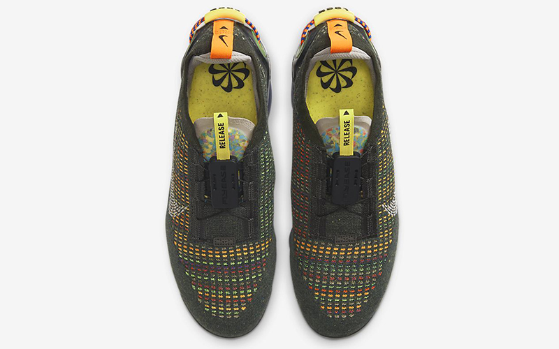 Nike air vapormax 2020 FK heren sneakers donkergroen