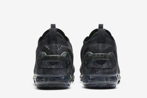 Nike air vapormax 2020 FK heren sneakers zwart
