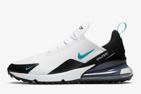 Nike air max 270 g heren sneakers wit/zwart -01