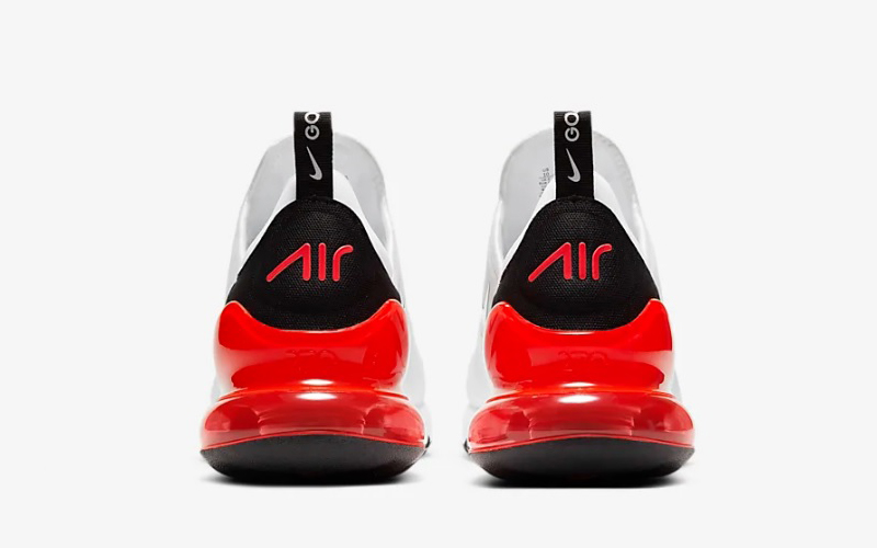 Nike air max 270 g heren sneakers wit/rood