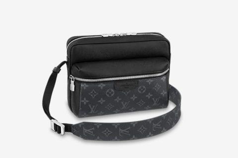 Louis Vuitton outdoor messenger schoudertas zwart