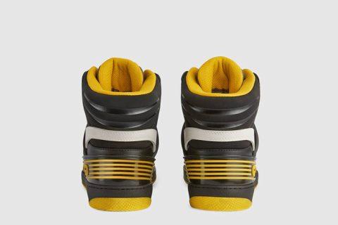 Gucci basket heren sneakers geel/zwart