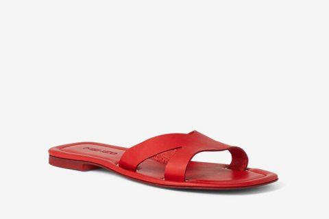 Kenzo paris opanka dames slippers rood