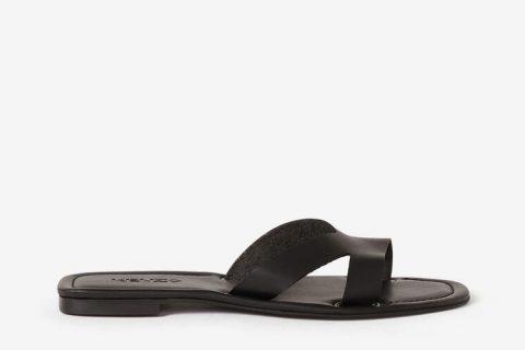 Kenzo paris opanka dames slippers zwart