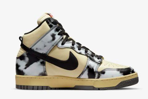 Nike dunk high 1985 sneakers beige/zwart